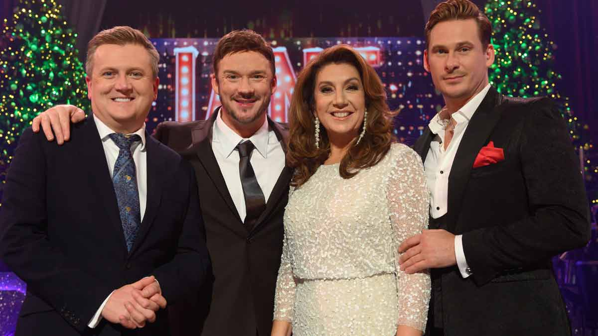 Jane McDonald Christmas specials on Channel 5