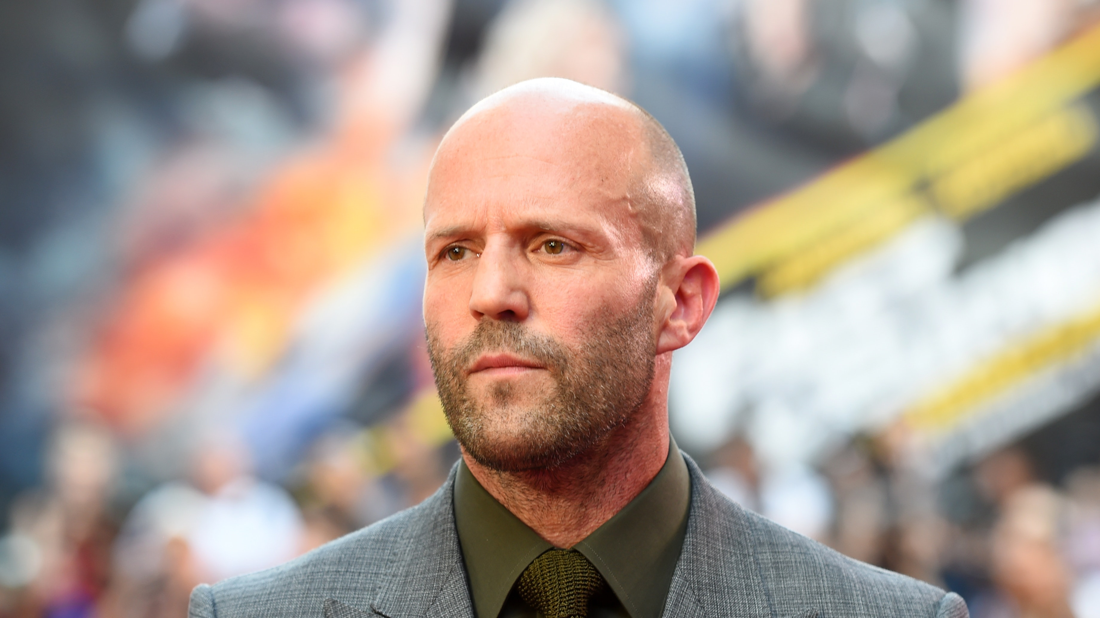 Jason Statham shares c...