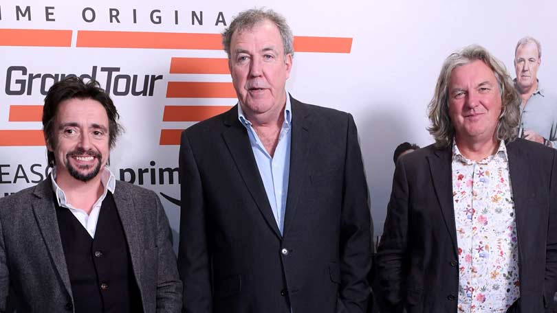 Clarkson, Hammond and May launching The Grand Tour