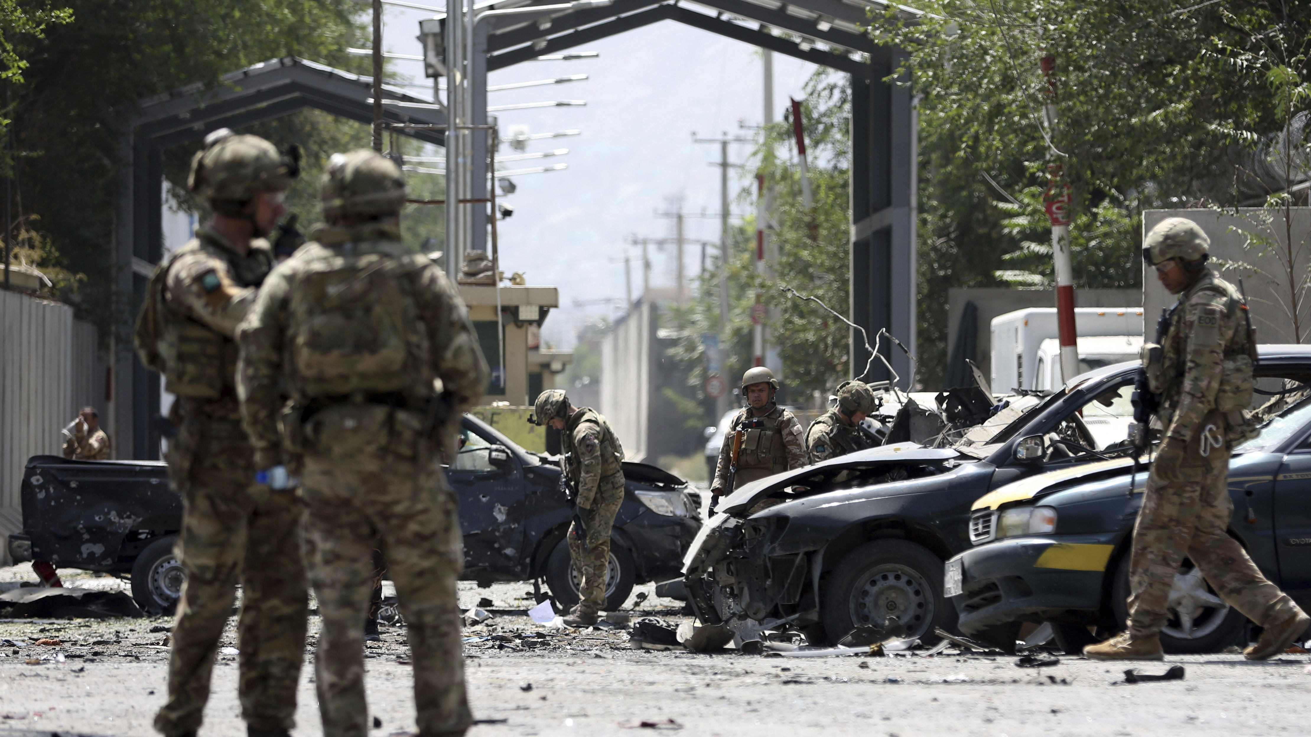 Kabul attack kills US service member, Romanian soldier and