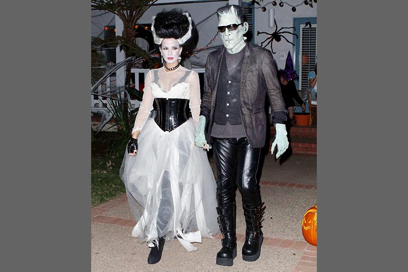 good bad and ugly celebrities at halloween in pictures