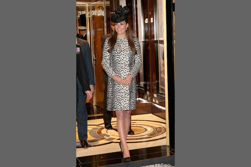 Kate Middleton wears Hobbs