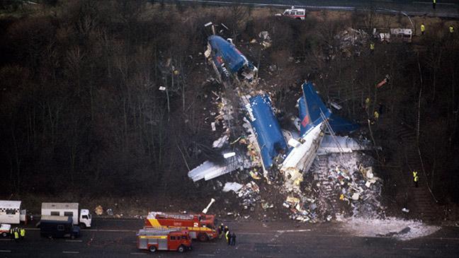 January 8, 1989: 47 die as British Midland jet crashes onto