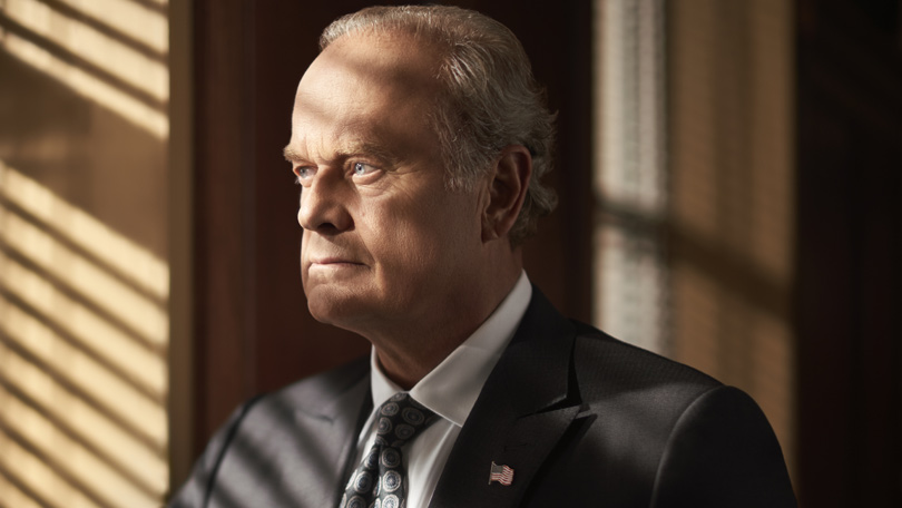 Kelsey Grammer as Gore Bellowes in Proven Innocent on Universal TV