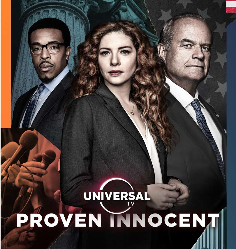 Proven Innocent series 1 - Universal TV - BT TV channel 320/385 HD