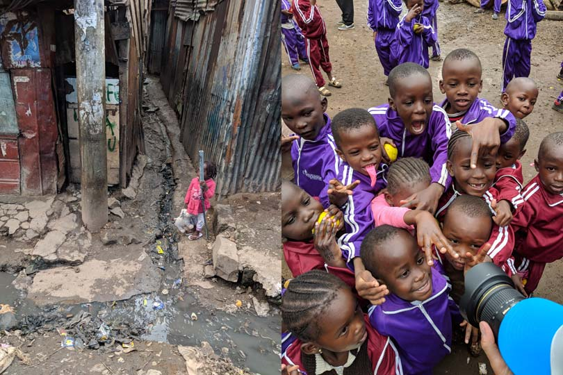 Mathere slum in Kenya