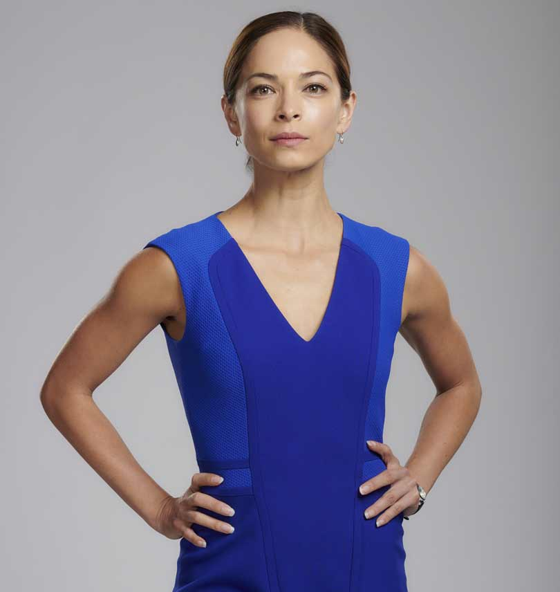 Kristen Kreuk in Burden of Truth