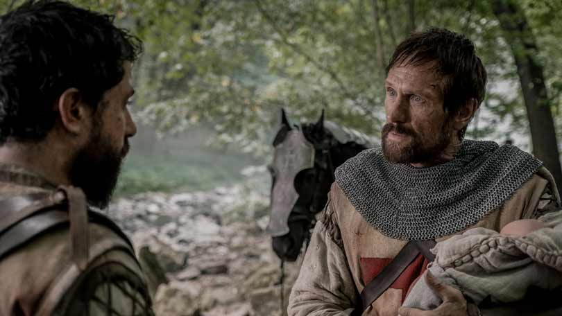 Simon Merrells in Knightfall