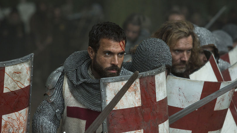 Tom Cullen in Knightfall season 1