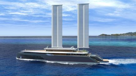 Would you travel on superyacht with wings?