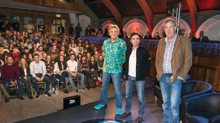 The Top Gear presenters
