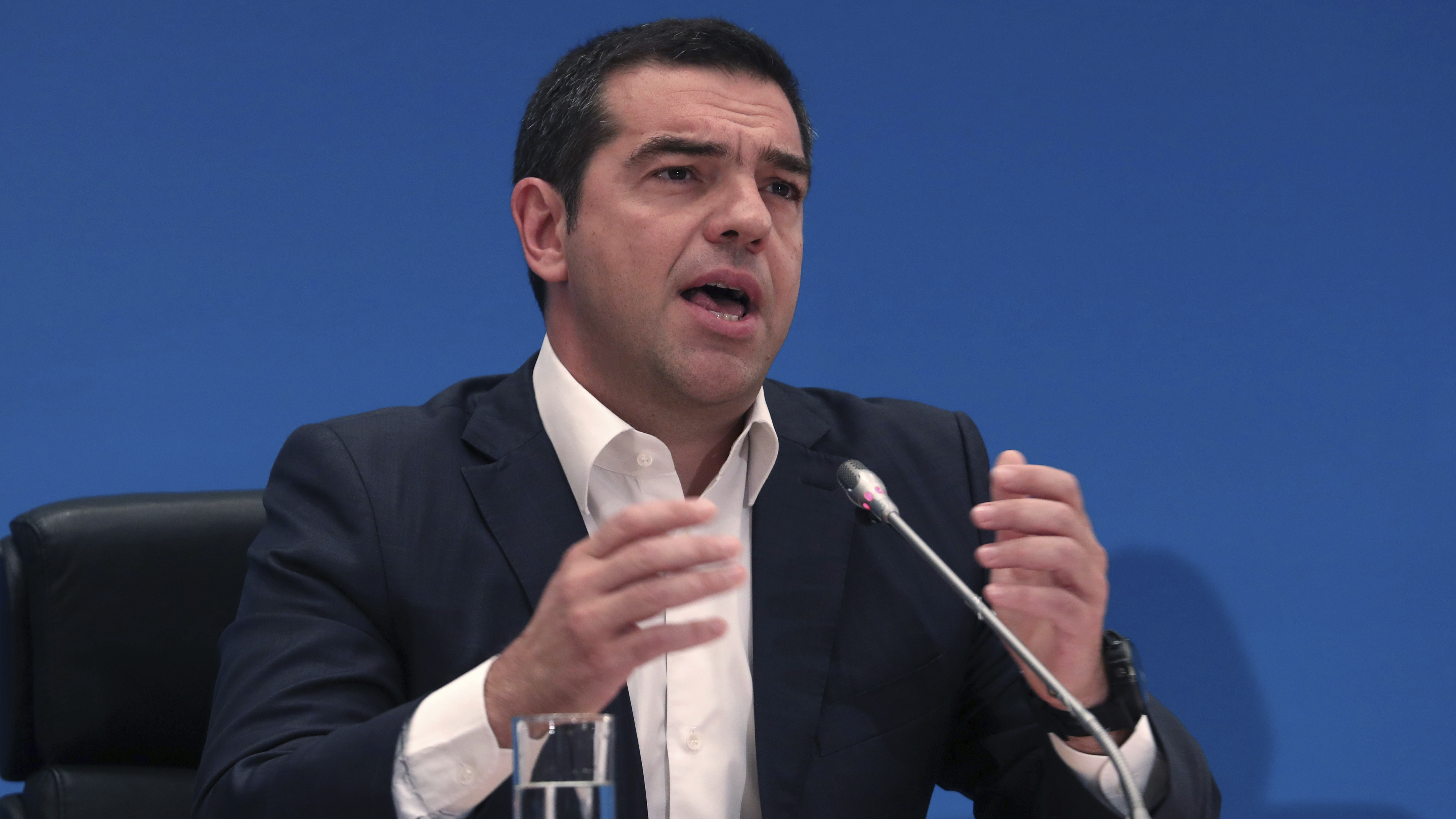left wing leader alexis tsipras - HD1408×791