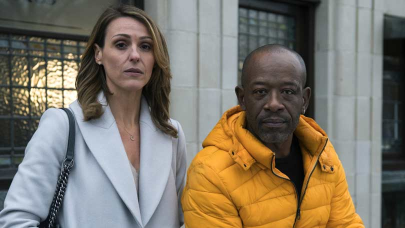 Save Me - Lennie James and Suranne Jones in series 1