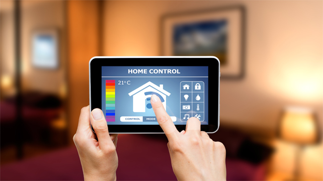 Smartphone Lighting Control From Central Heating To Home More And Liances Can Now