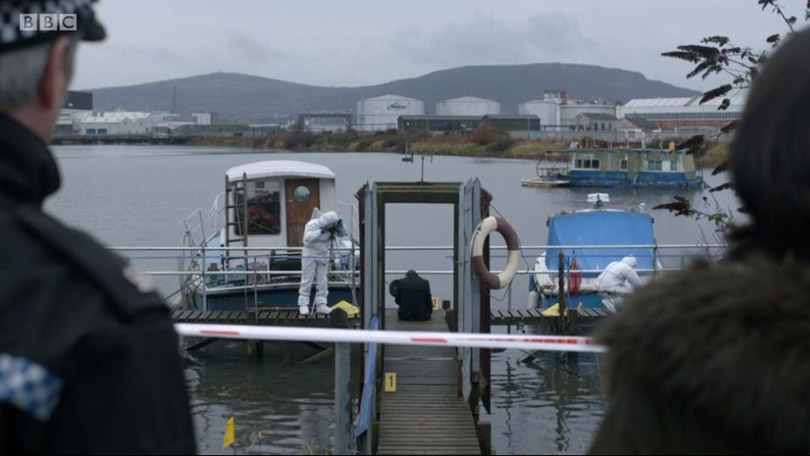 Line of Duty jetty