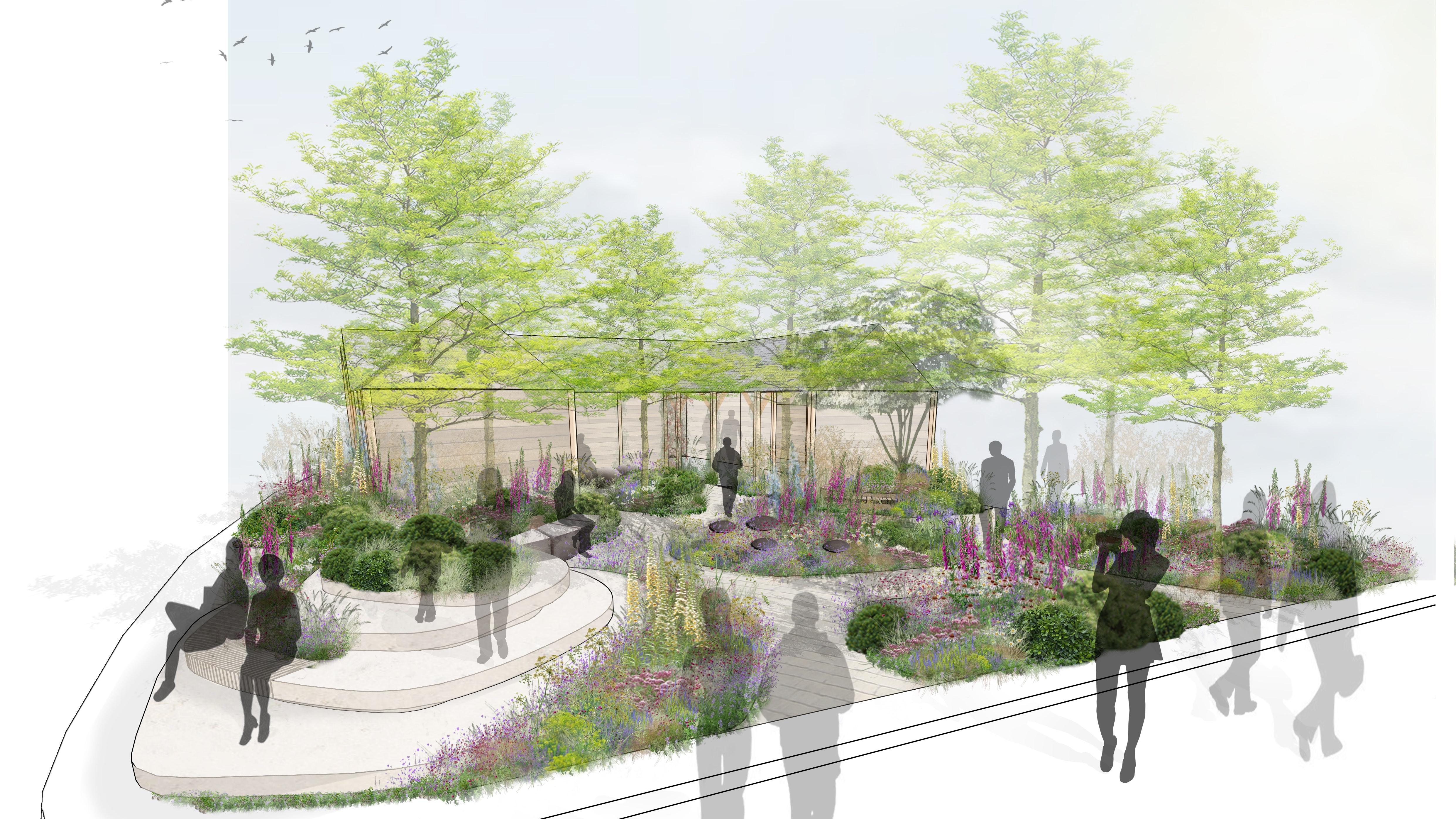 london mental health trust wins chelsea flower show garden   bt