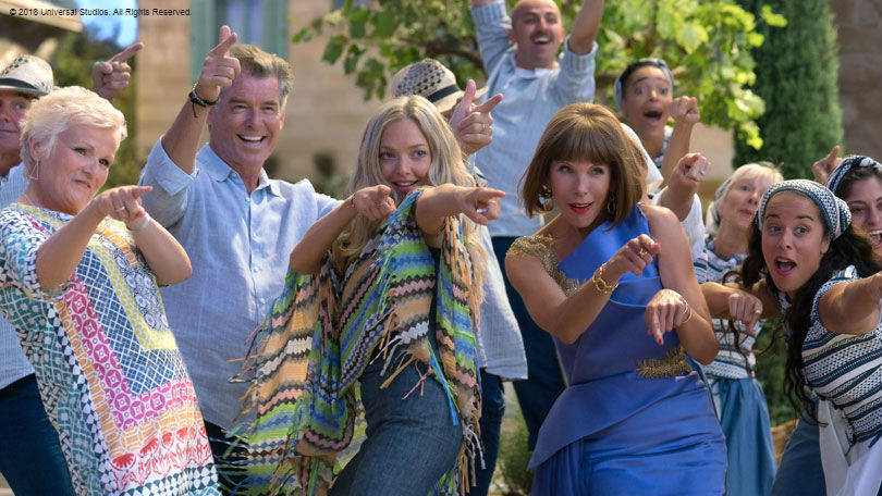 Mamma Mia 2 dancing queen