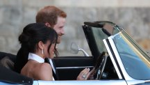 Married life begins for Harry and Meghan after fairytale ceremony