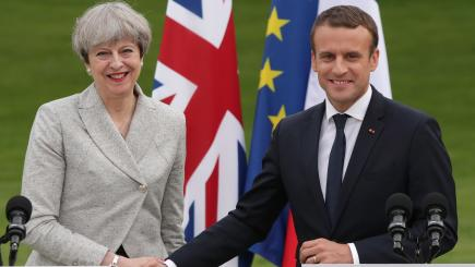May promises more funding for UK border controls in France