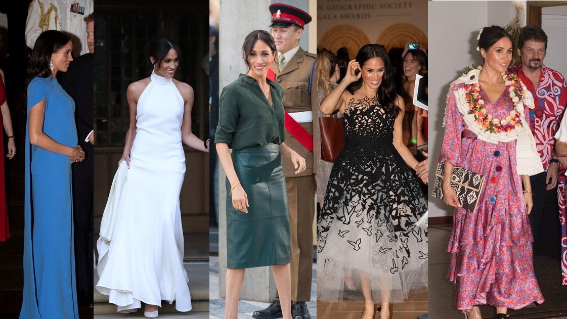 00a752fa8648 Meghan s royal style  favourite fashion moments of the Duchess of ...