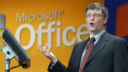 Microsoft Office with Bill Gates