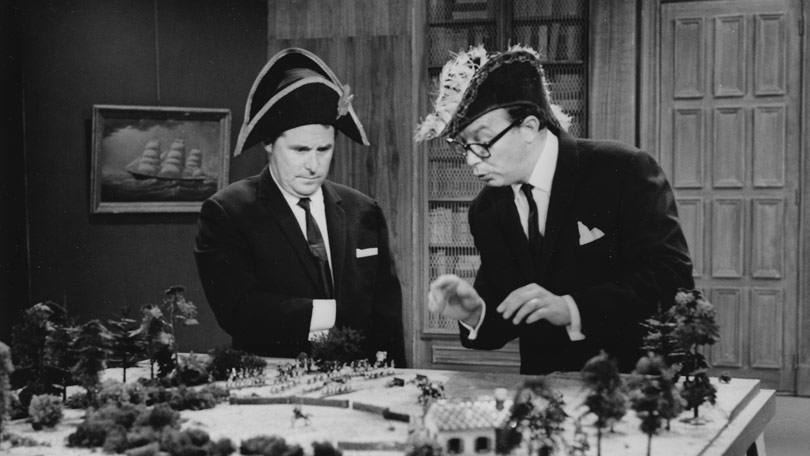 Morecambe and Wise in America