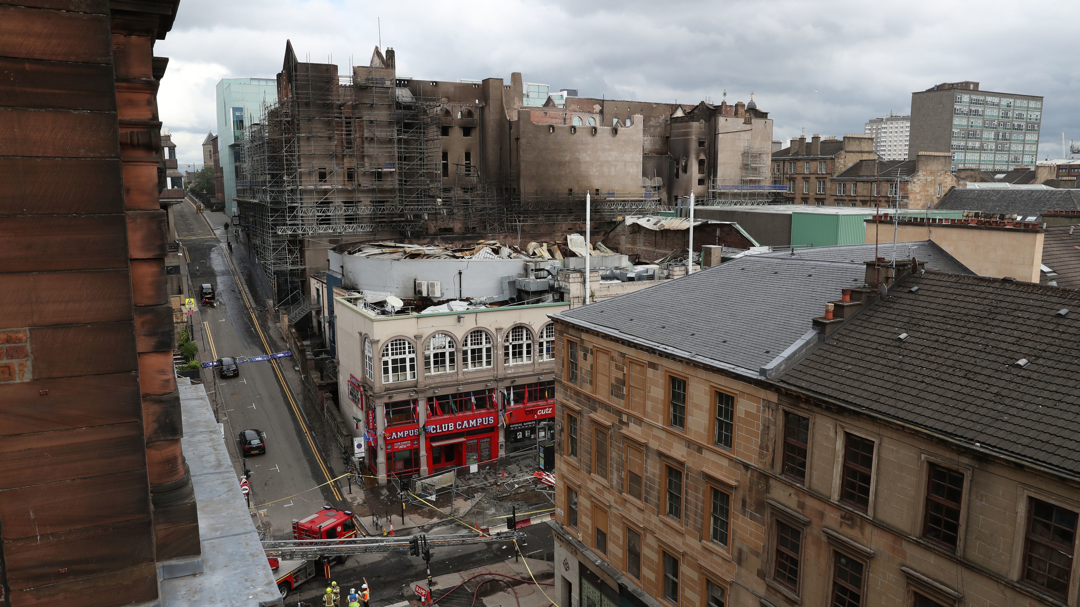 Music Venue And Bar In Line For Demolition After Glasgow School Of