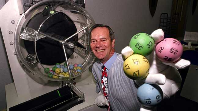 November 19, 1994: First National Lottery draw sees seven