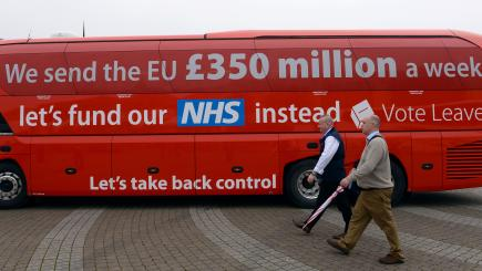Nhs To Get Extra 384 Million Per Week After Brexit Government Says