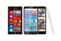 Nokia has unveiled its first 6-inch smartphones, the Nokia Lumia 1520 	and Nokia Lumia 1320.