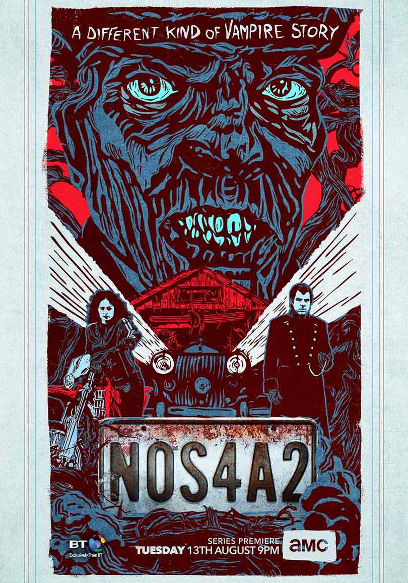 NOS4A2 poster - Joe Hill book comes to AMC