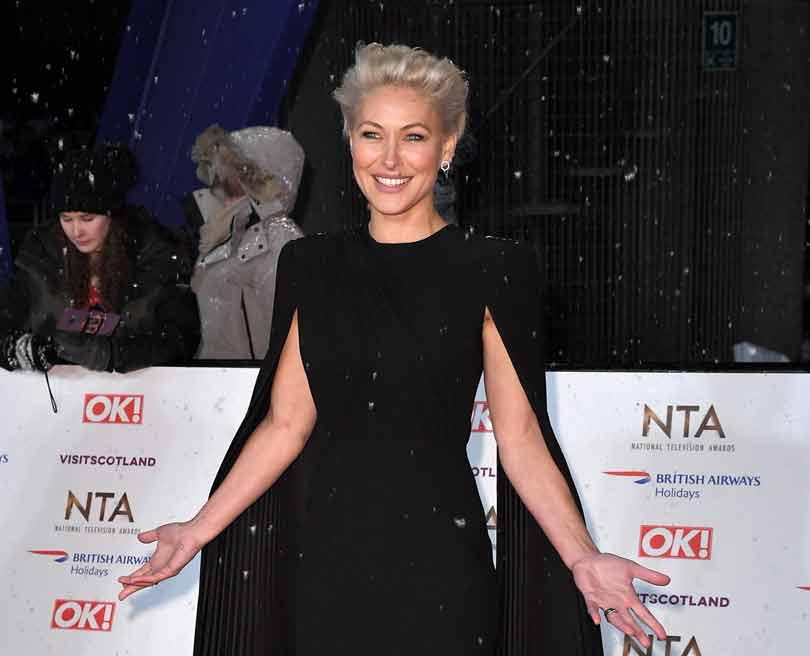 Emma Willis at the NTAs