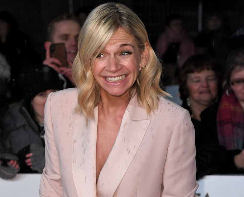 Zoe Ball at the NTAs