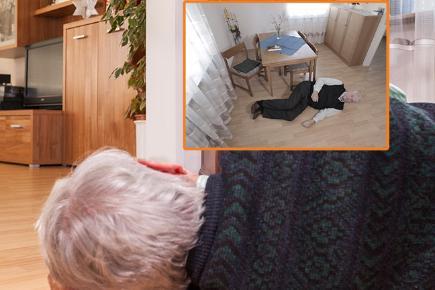 Fall Detection System Raises Alarm For The Elderly Bt