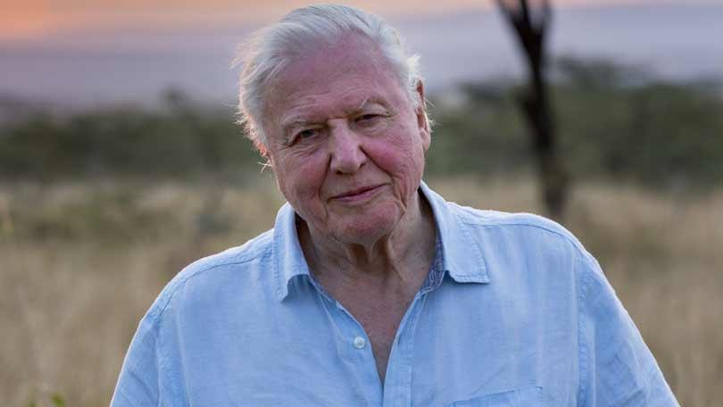 Sir David Attenborough on Our Planet