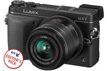 Panasonic Lumix GX7 with BT.com badge