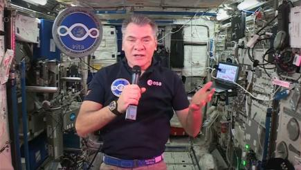Paolo Nespoli talks about life on board the International Space Station