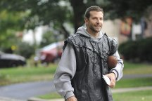 Bradley Cooper plays Pat, a man with bipolar disorder recently released from a psychiatric hospital