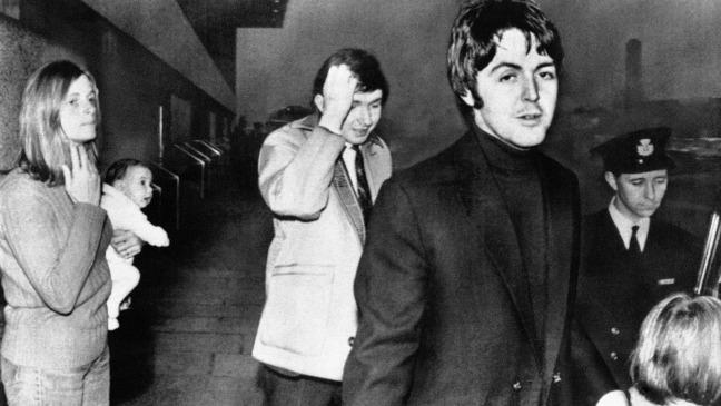 october 22 1969 beatle paul mccartney denies rumours of his own