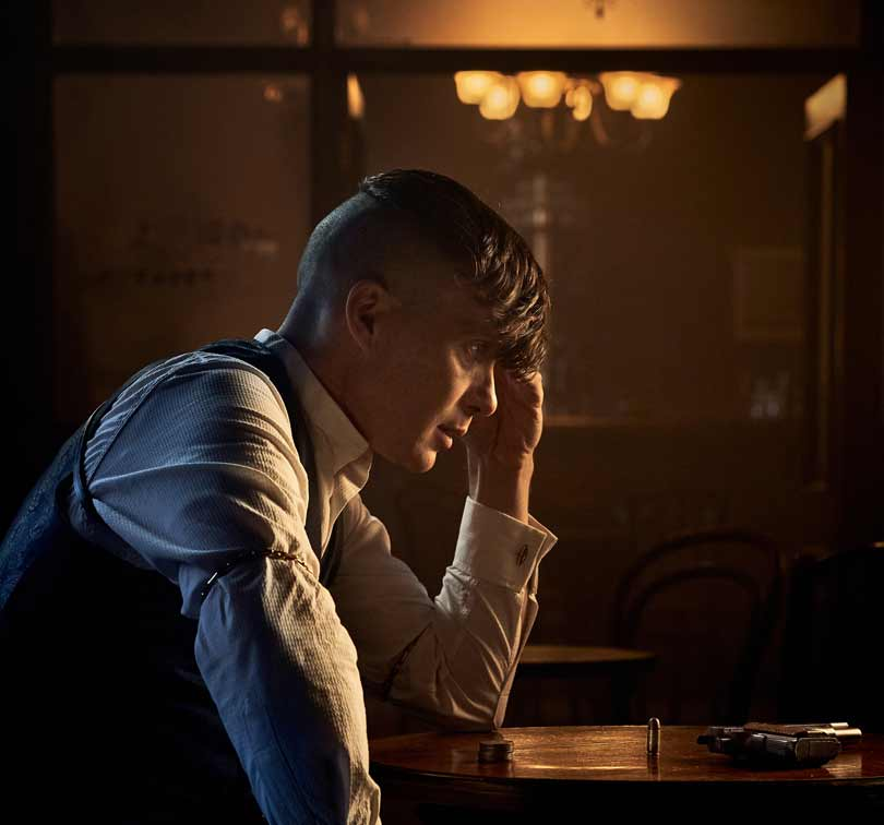Peaky Blinders season 5 - Cillian Murphy as Tommy Shelby