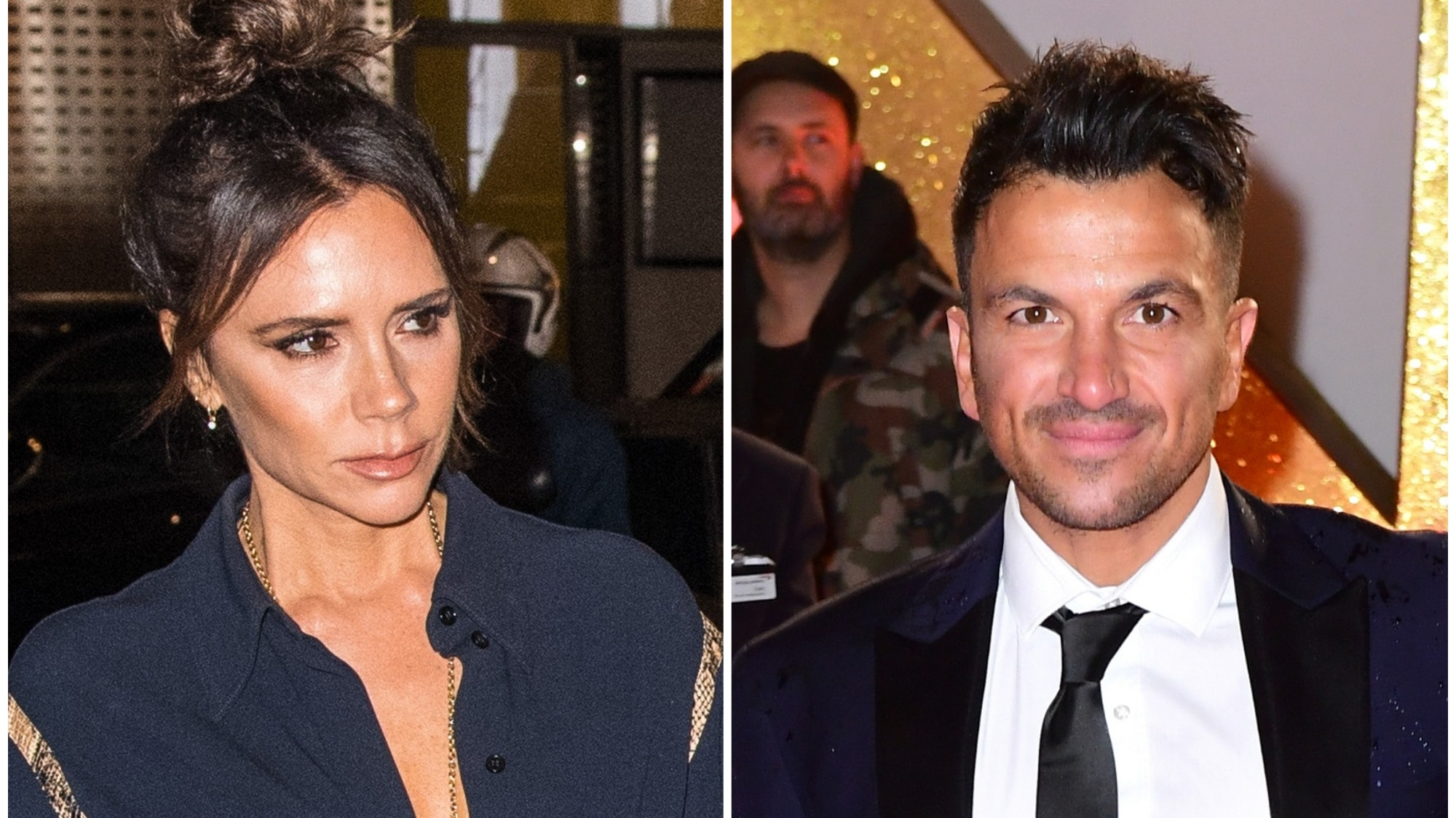 Peter Andre And Posh Spice Era Victoria Beckham Unrecognisable In Old Picture Bt
