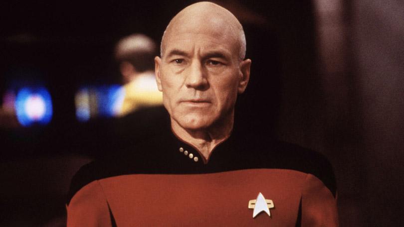 Patrick Stewart as Jean-Luc Picard in Next Generation