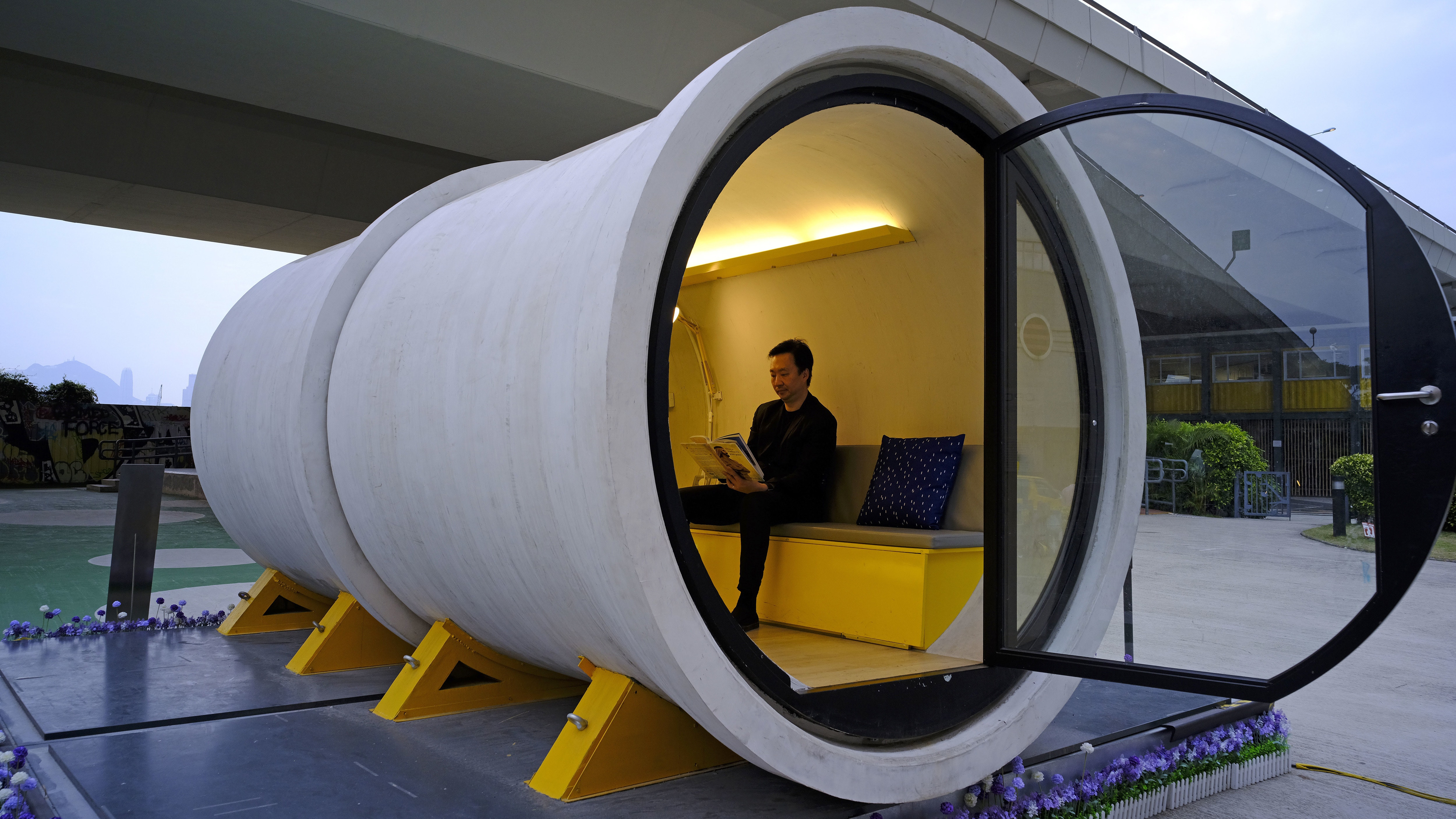 Pipe Dream Hong Kong Architect Proposes Low-Cost Tube -2205