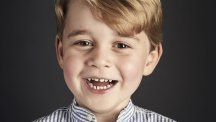Prince George's birthday picture reveals 'happy little boy'
