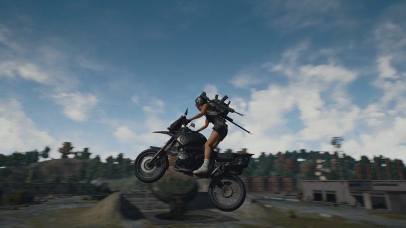 PUBG motorbike