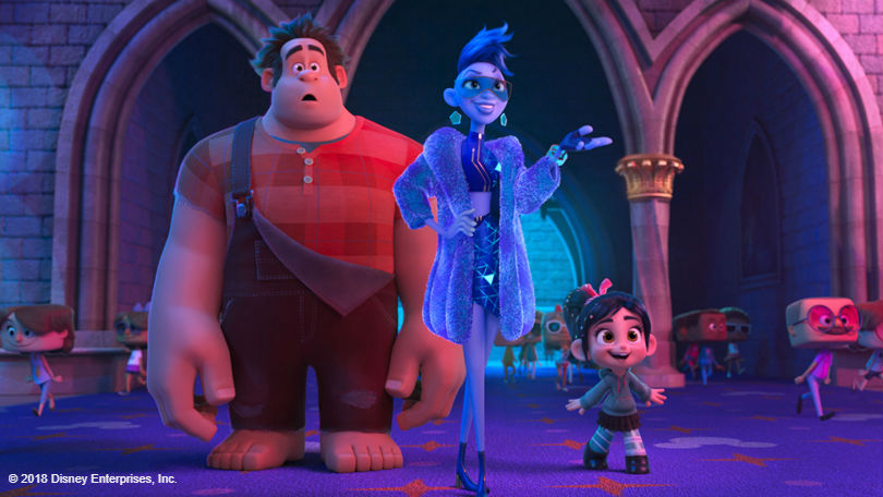Ralph Breaks The Internet characters