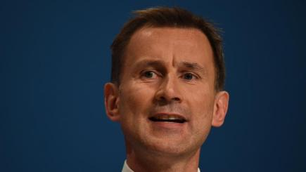 Jeremy Hunt gave the responsibility to the newly-formed NHS Improvement body