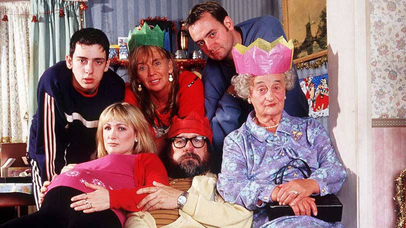 Ralf and Ricky in The Royle Family