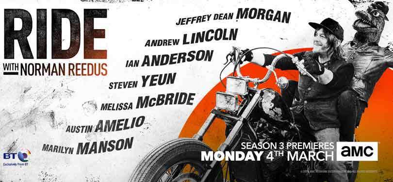 Ride with Norman Reedus season 3