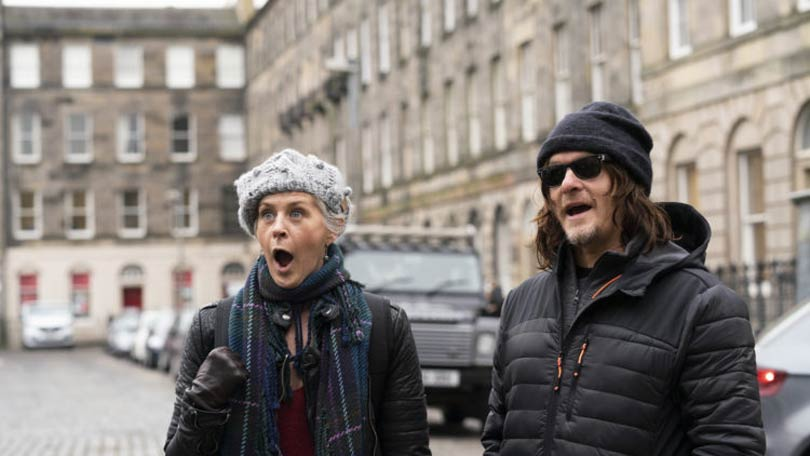 Ride with Norman Reedus - Melissa McBride in Edinburgh